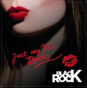 JUST MY KISS ROCKS-BLACK ROCK