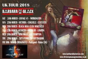 barbara black uk tour 2018