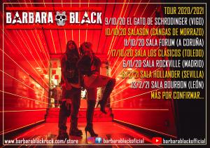 Barbara black tour